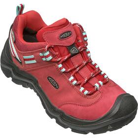 Keen Wanderer WP Shoes Damen chili pepper/gargoyle